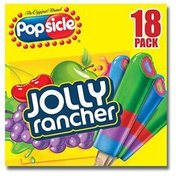 Popsicle Jolly Rancher Ice Pops 18 ct