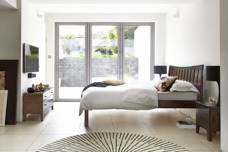 £400 The Slatted bed is a classically featured bed which has been given a modern spin with a panelled headboard. This bed is the perfect feature for your room to create a modern, stylish and characterful look.