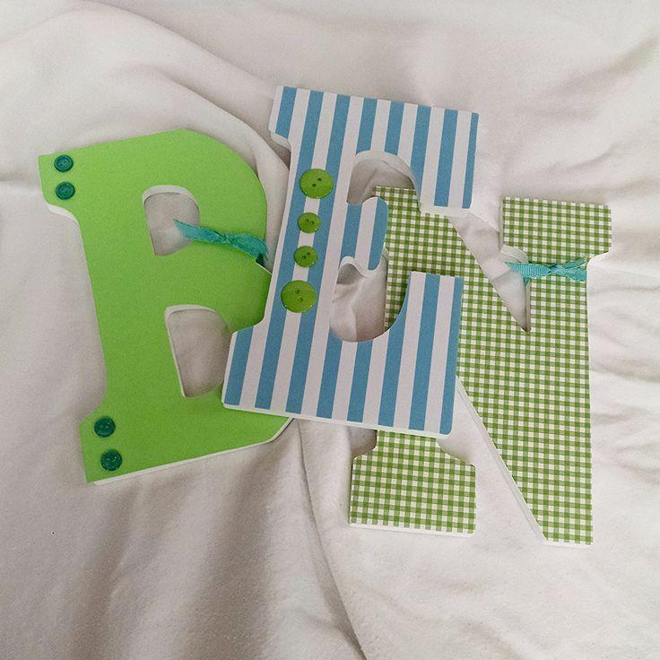 Hanging Wall Letters 24 best custom nursery letters images on pinterest | nursery