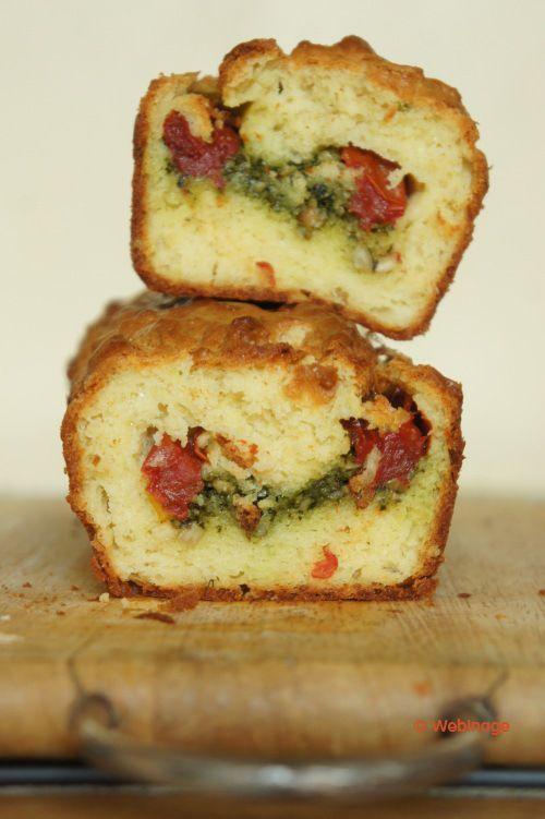 cake-tomate-pesto 1