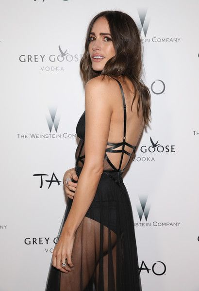 Louise Roe Photos Photos - TV host/blogger Louise Roe attends The Weinstein Company's Academy Awards viewing and after party in partnership with Grey Goose at TAO Los Angeles at TAO Hollywood on February 26, 2017 in Los Angeles, California. - The Weinstein Company's Academy Awards Viewing and After Party