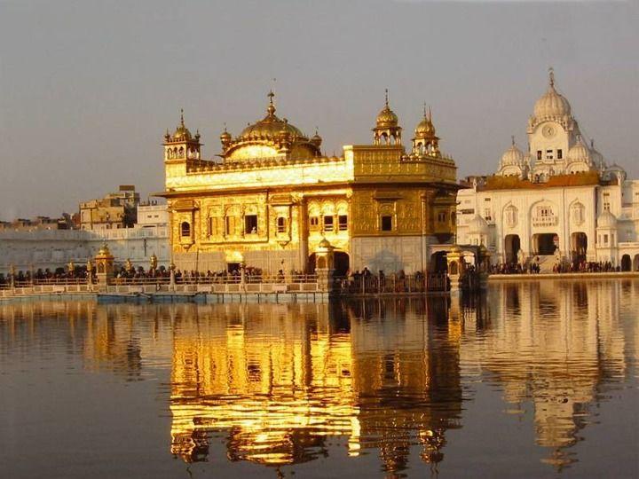 Золотой храм в Амритсар, Индия