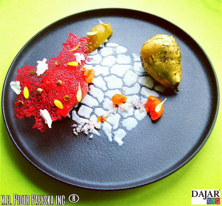PLATE 8 Beef Tartare made by Piotr Pałyska #plate #abstract #expressionism #gastronomy