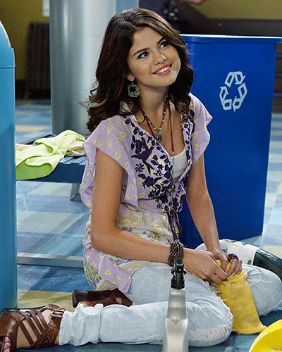 The Wizards of Waverly Place  STYLE PROFILE  Alex Russo's (Selena Gomez) fashion sense is pure magic, thanks to her ruffled tops and fun-loving accessories.
