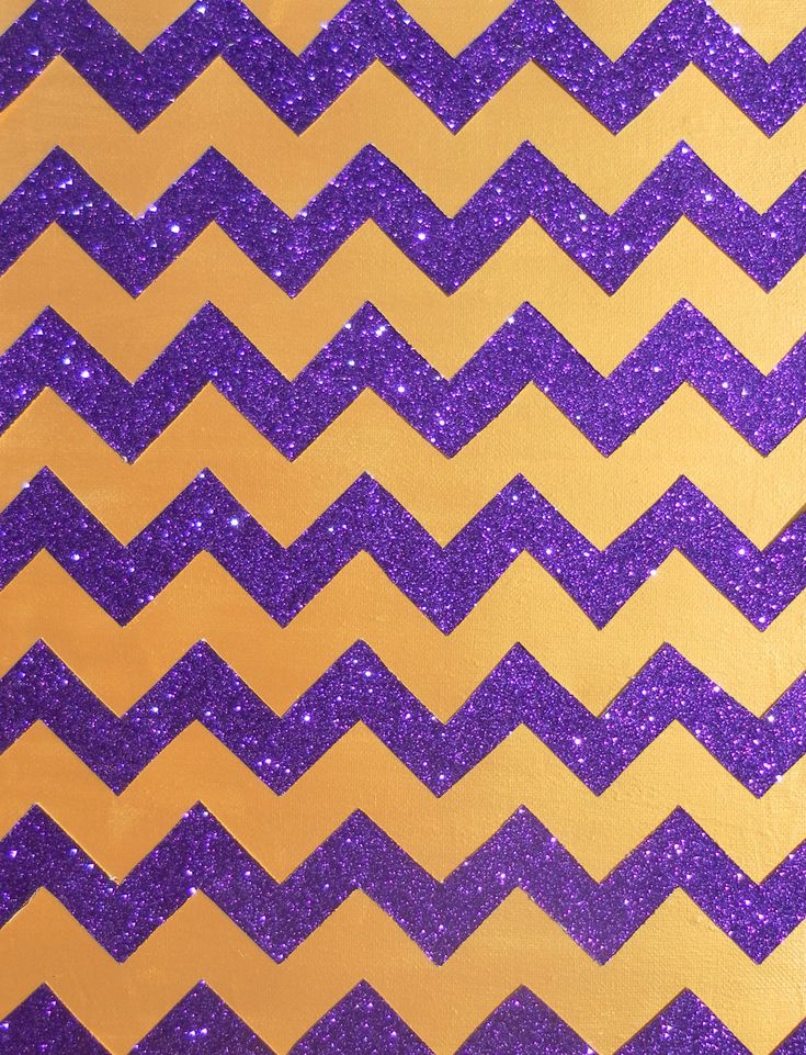 Gold And Purple Glitter Chevron Wallpapers Android
