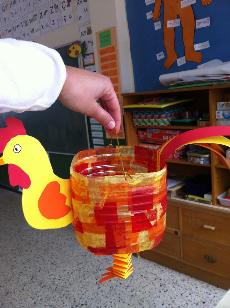 Hahn Laterne - Rooster lantern