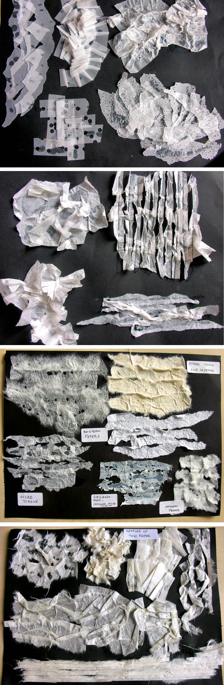 Manipulated papers