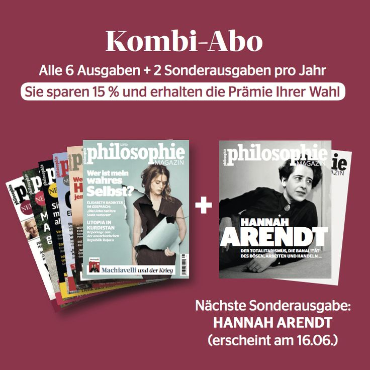 Abo - Philosophie Magazin