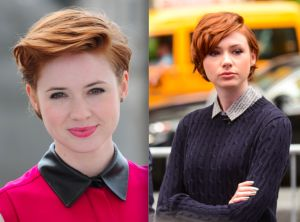 The Best Short Hairstyles for Round Face Shapes: 20 Celebrities Who Share Your R…
