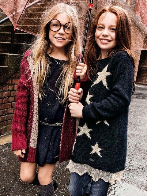 Liu Jo Junior AW 14 moda infantil internacional http://www.minimoda.es
