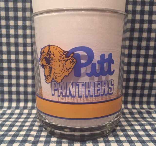 Vintage Pitt Panthers Basketball 4 Inch Glass 10 Years of the Big East VTG | eBay