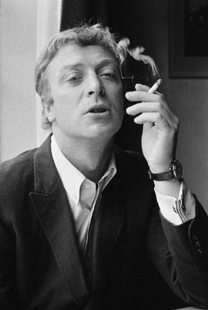 David Hurn 1965 Michael Caine, during the making of Alfie