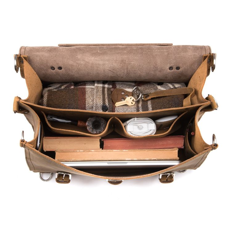 Briefcase - Classic Leather Briefcase | Saddleback Leather Co.