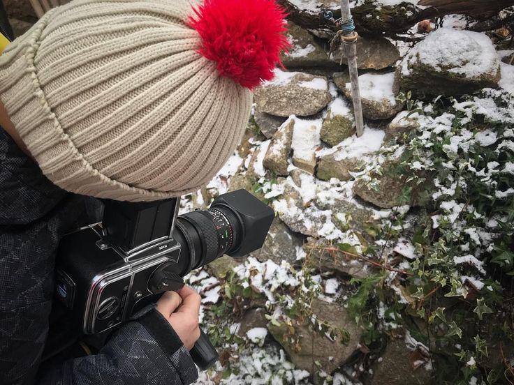 From our last private photo #workshop session with #Hasselblad #mediumformat  Jedna momentka z našeho posledního individuálního letošního workshopu focení středoformátovým Hasselbladem.  #analogphotography #trebic