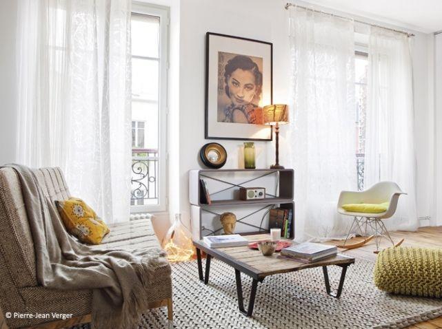 Un petit loft parisien