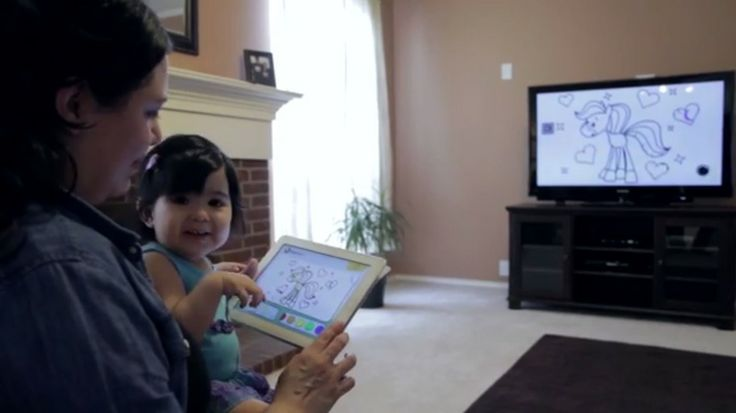 AT&T U-Verse service launches a second screen app to pair with its BabyFirst channel.