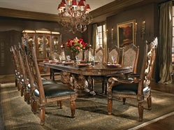 Max Furniture 7pc Marcus Aemilius Dining Room Set  http://www.maxfurniture.com/detail-Dining-Dining-Sets-7pc-Marcus-Aemilius-Dining-Room-Set-186-27957.aspx: Dining Rooms Sets, Villas Valencia, Valencia Rectangular, Rectangular Dining, Dinning Rooms, Aico Furniture, Dining Tables, Boards, Valencia Dining