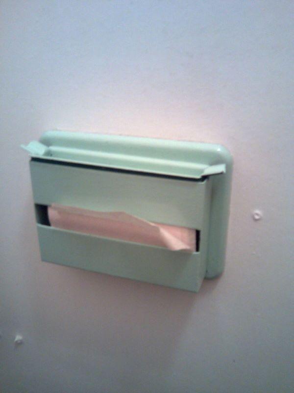 Zásobník na toaletní papír. 70.léta