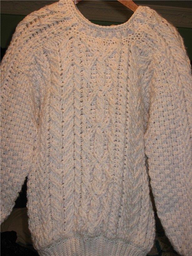 Easy Mens Crochet Sweater Pattern Crochet & Knit ...