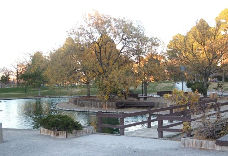Duck Pond, The University of New Mexico, Albuquerque, New Mexico