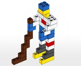 printable lego building ideas - because it drives me crazy when the sets don't have all the pieces
