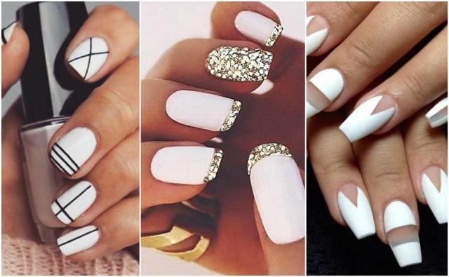 14 pomysłów na cudowne białe paznokcie. [JESIENNE INSPIRACJE]