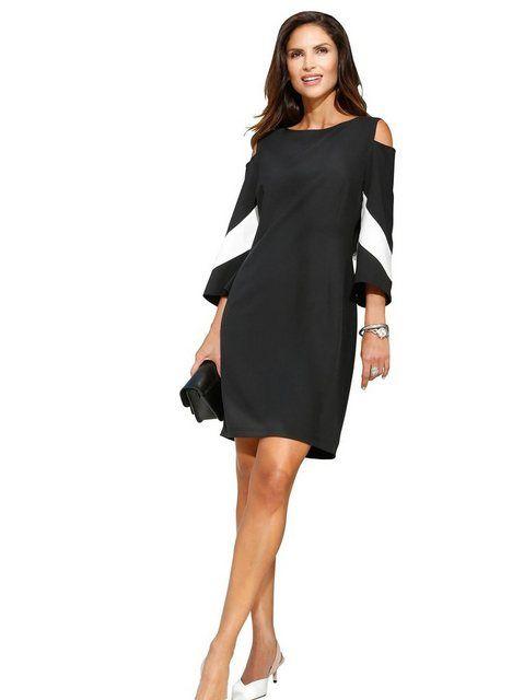 création L Kleid mit Cut-Outs an den Schultern