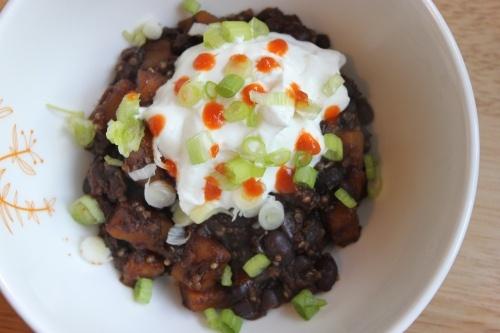 Black Bean Chili with Butternut Squash | Yummy Food Ideas | Pinterest