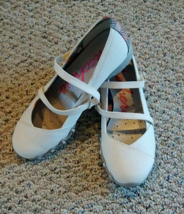 SKECHERS Mary Jane slip on *size 7.5* NEW - FAST SHIP #SKECHERS #MaryJanes #Casual