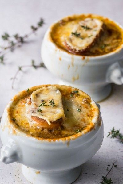 Vegetarian French Onion soup that's JUST as good as the classic version. See just how easy it is to create this ultimate winter comfort food!