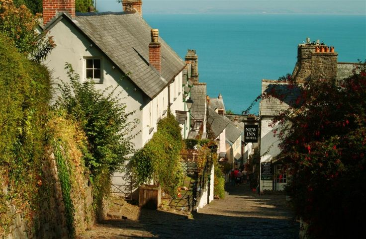 Beautiful Clovelly in North Devon, near Coryanna Cottage. http://www.toadhallcottages.co.uk/holiday-cottages/coryana-cottage/1537/