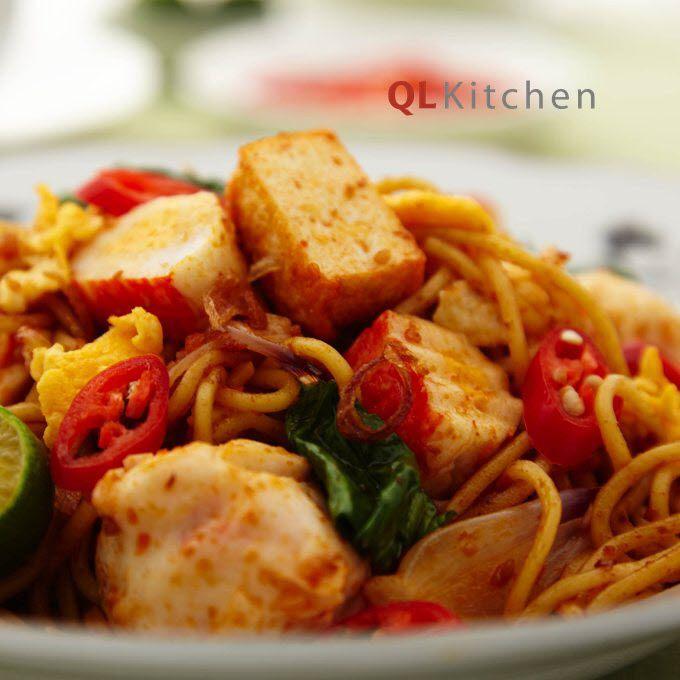 Seafood Mee Goreng Mamak Recipe