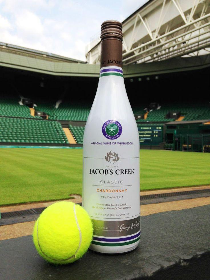 Jacob's Creek Wimbledon-themed wine wheel - Google Search