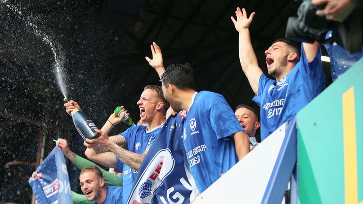 POMPEY WINS PROMOTION TO LEAGUE 1