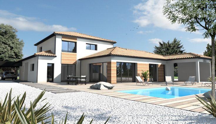 104 best plans de maison images on pinterest for Constructeur maison contemporaine 76