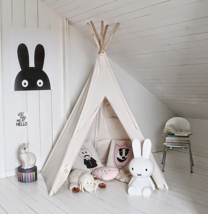 VILAC - Kids Tent www.smallable.com/playhouses-and-outdoor-play/5569-native-indian-tent.html PAPAMARIA - Miffy Nightlight www.smallable.com/childrens-lamps-and-nightlights/14571-miffy-night-light-large.html EGMONT - Rabbit Nightlight www.smallable.com/lampes-et-veilleuses-enfant/35702-lampe-lapin-blanc-5420023000491.html