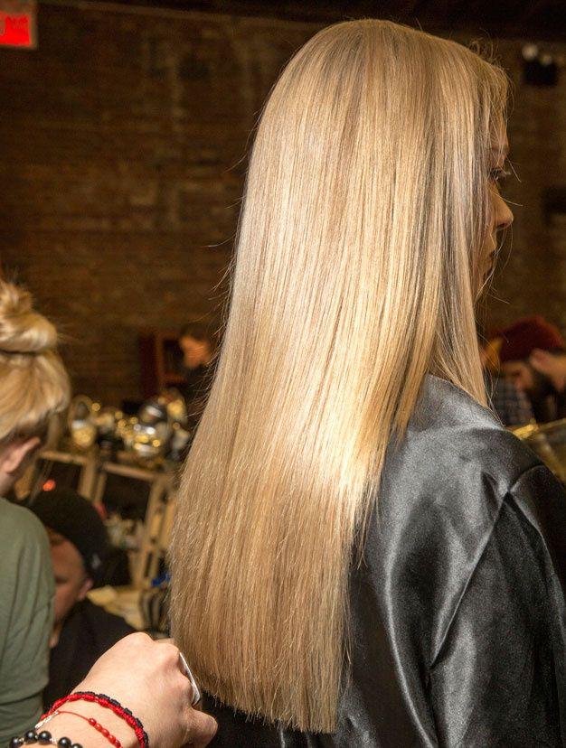 Tendances coiffures automne hiver 2015 2016 - cheveux brillants