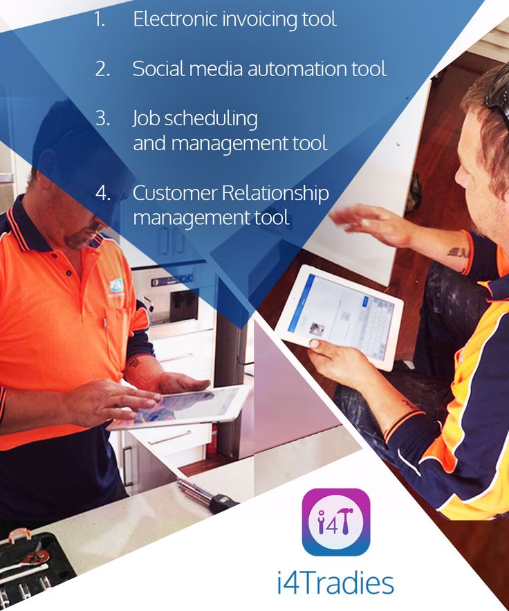 4 tech tools every #Tradie must have in his/her toolkit #TradesServices #Australia