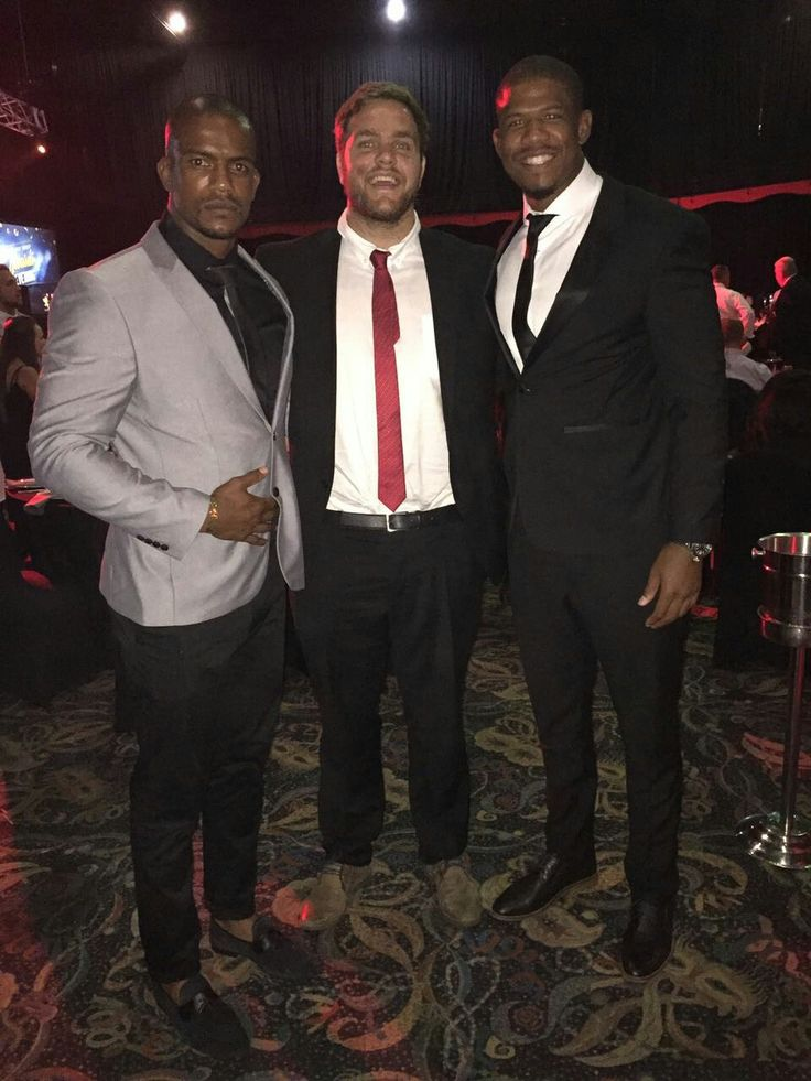Fabian Booysen, Andries Ferreira and Marvin Orie at the Lions Group's Awards Night.   #LeyaTheLion #Liontainment #BeThere #MyLionsMoment #LionsAwards2017