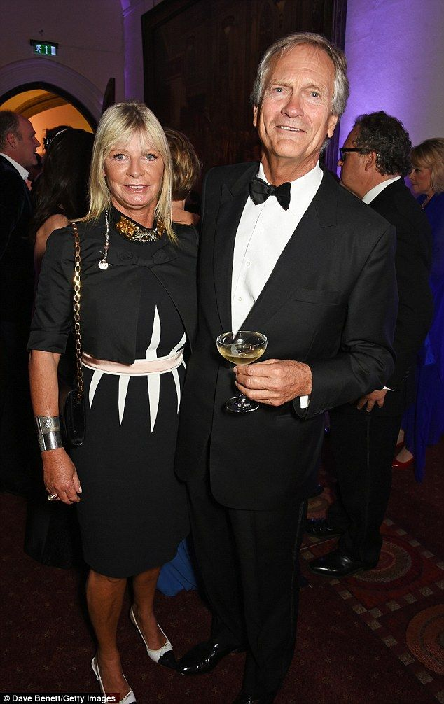 Pandora Delevingne, 56, (pictured with husband Charles) has written a book called Shadows ...