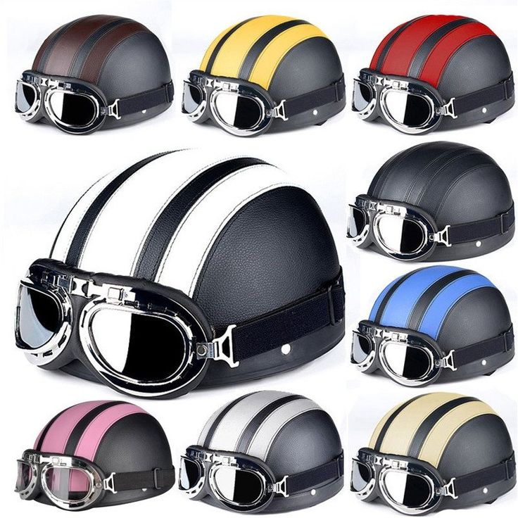 Looking for a Vintage Helmet to suit your style? Then look no more as this awesome retro helmet is perfect for you! Material : ABS Suitable for head circumference : 56-59cm