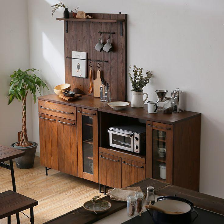 選べる3タイプ ミドルタイプキッチン収納