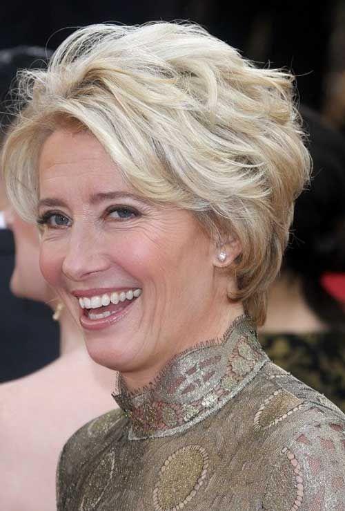 Einfache Kurze Frisuren Für ältere Frauen ältere Einfache