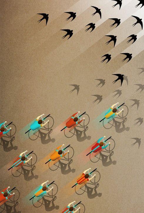 Bike like birds #bikelove