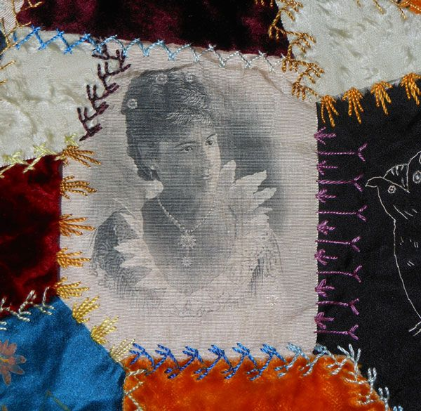 Vintage Crazy Quilts 119