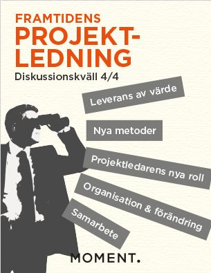 Poster. Invitation to project management seminar.