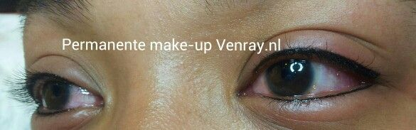 Boven én onder eyeliner door Nathalie Salarbux-Rozema, permanente make-up Venray.nl