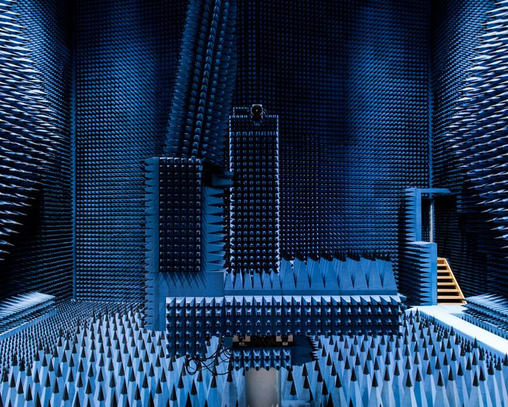 Otherworldly Sound Absorbent Research Facility
