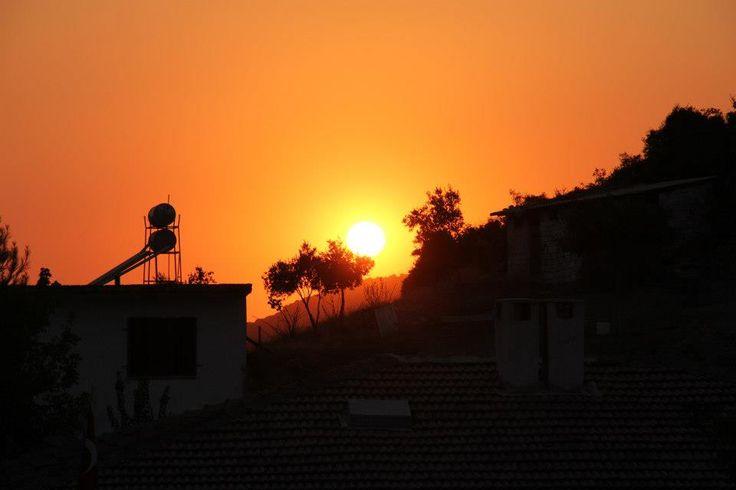 Sunset in Sirince