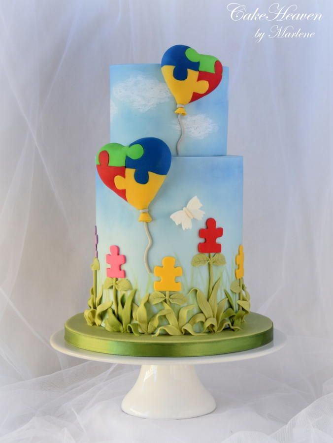 Cake Decorated By Girl With Autism : 1649 best Cakes images on Pinterest Cake ideas, Birthday ...